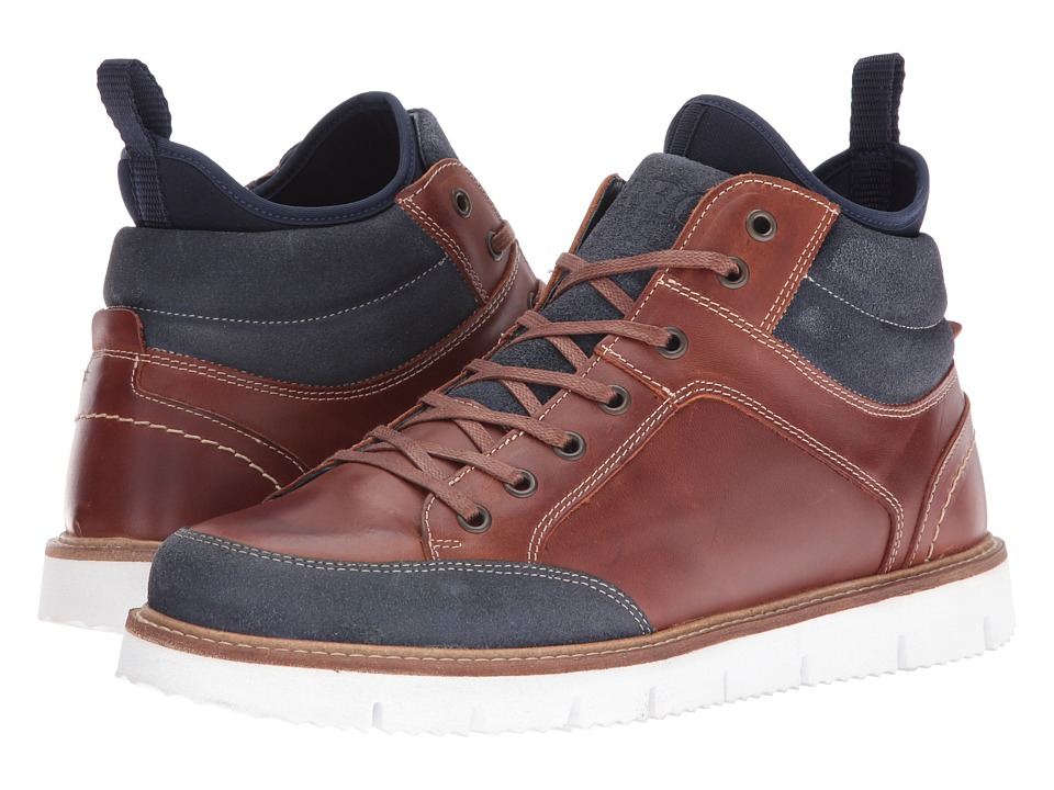 PARC City Boot - High Line (Cognac/Navy) Men's Shoes