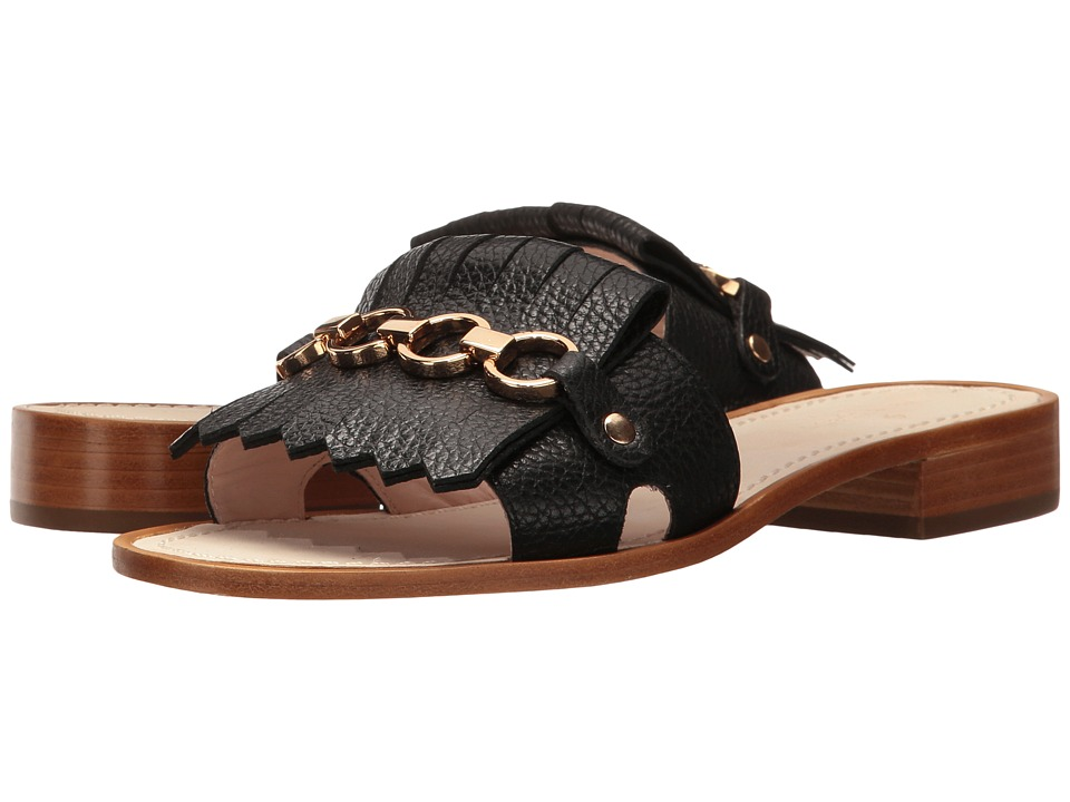 Kate Spade New York - Brie (Black Tumbled Leather) Women's Shoes