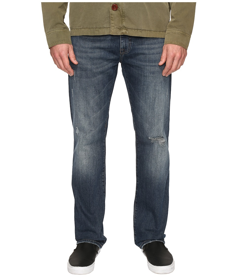 Mavi Jeans Zach Classic Straight Leg in Foggy Belltown (Foggy Belltown) Men