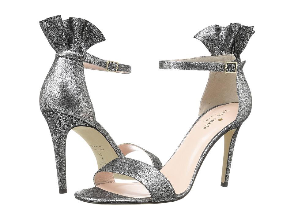 Kate Spade New York - Iris (Pewter Cracked Vintage Metallic) Women's Shoes