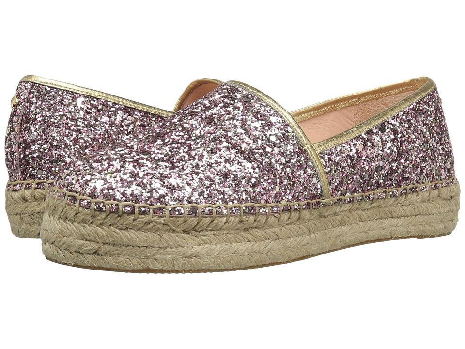 Kate Spade New York - Linds Too (Rose Gold Glitter/Gold Nappa) Women's Shoes