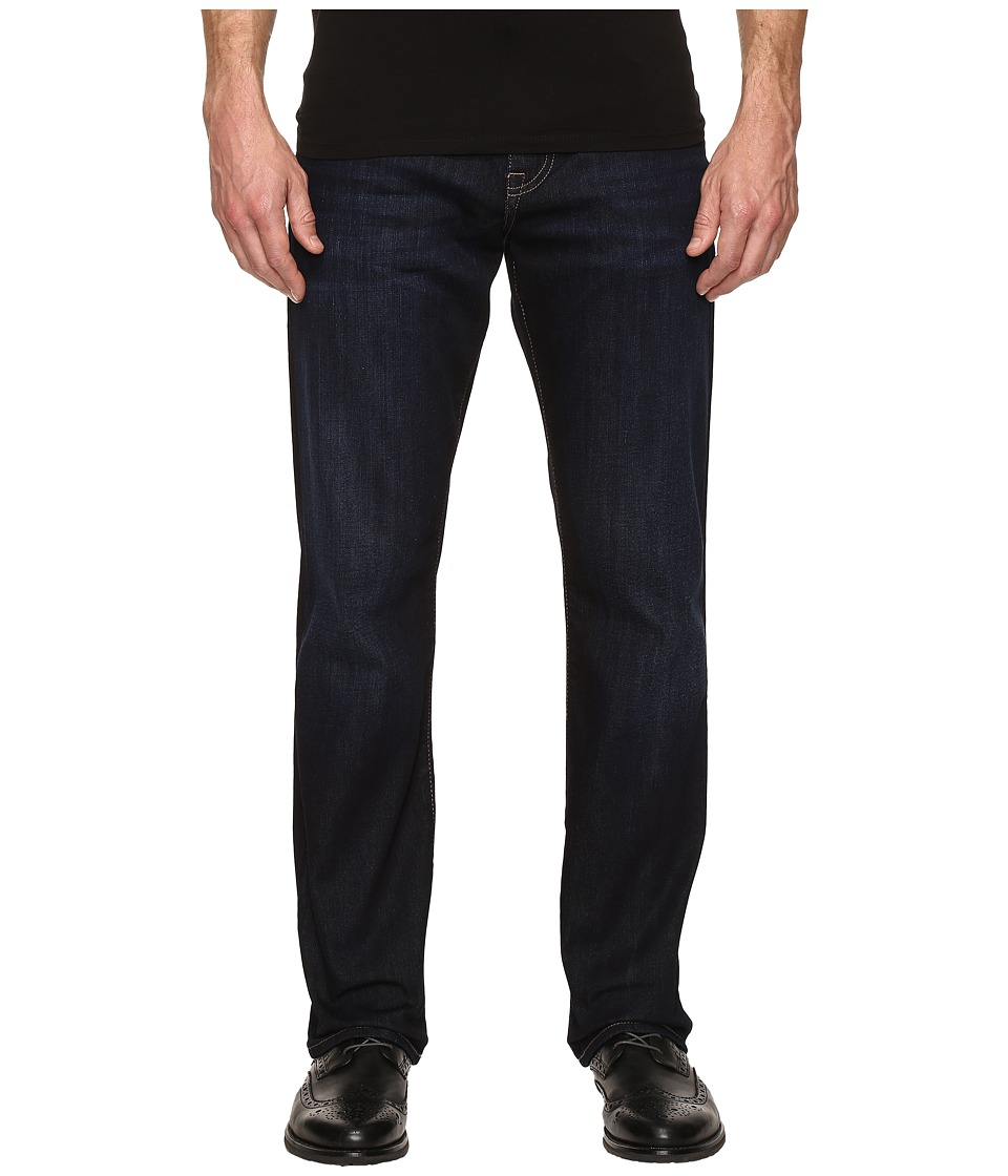 Mavi Jeans - Matt Mid-Rise Relaxed Straight in Rinse Brushed Williamsburg (Rinse Brushed Williamsburg) Men's Jeans