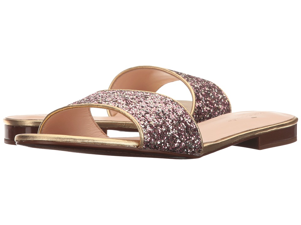 Kate Spade New York - Madeline (Rose Gold Glitter/Gold Nappa) Women's Shoes