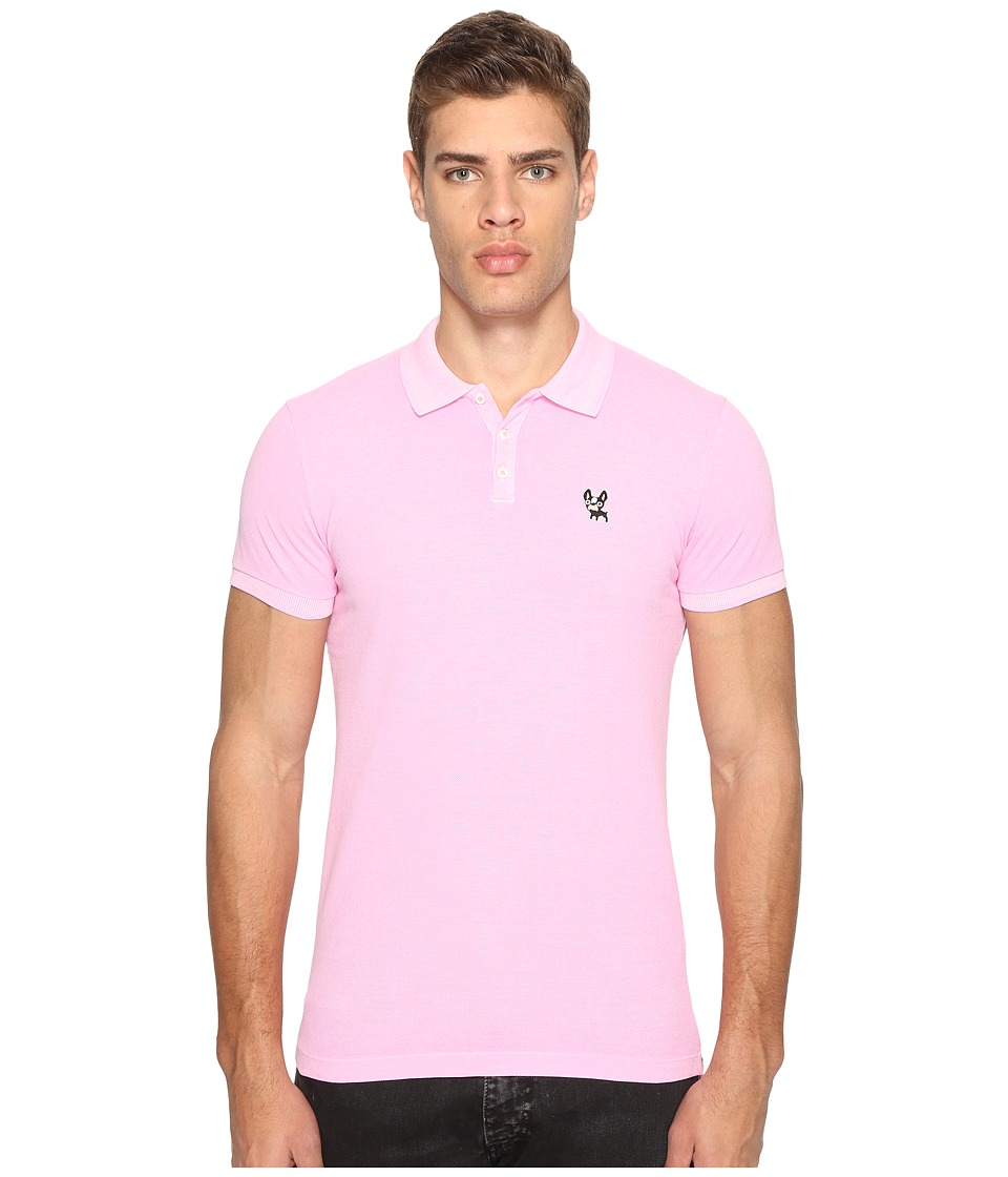 DSQUARED2 - Classic Fit Polo Shirt (Pink) Men's Short Sleeve Pullover