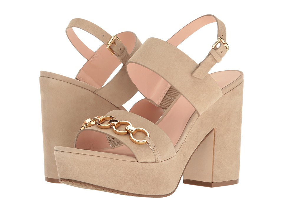 Kate Spade New York Rashida Sand Kid Suede Shoes