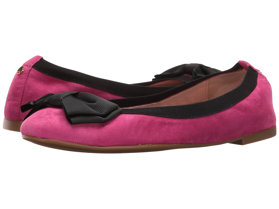 Kate Spade New York - Wylie Too (Deep Pink Kid Suede) Women's Shoes