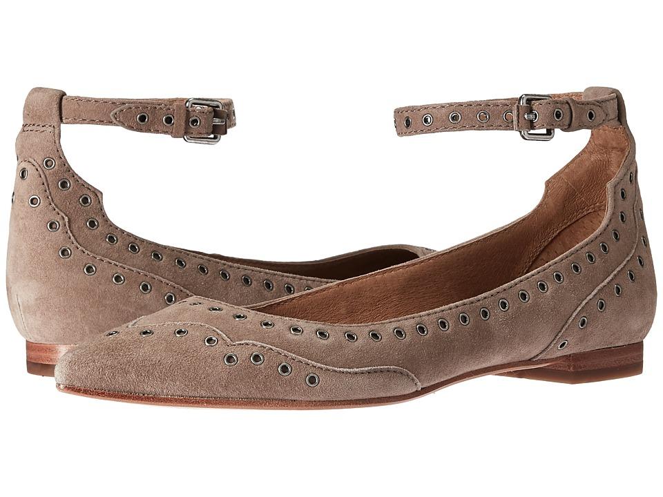 Frye Sienna Grommet Ankle (Ash Suede) Women