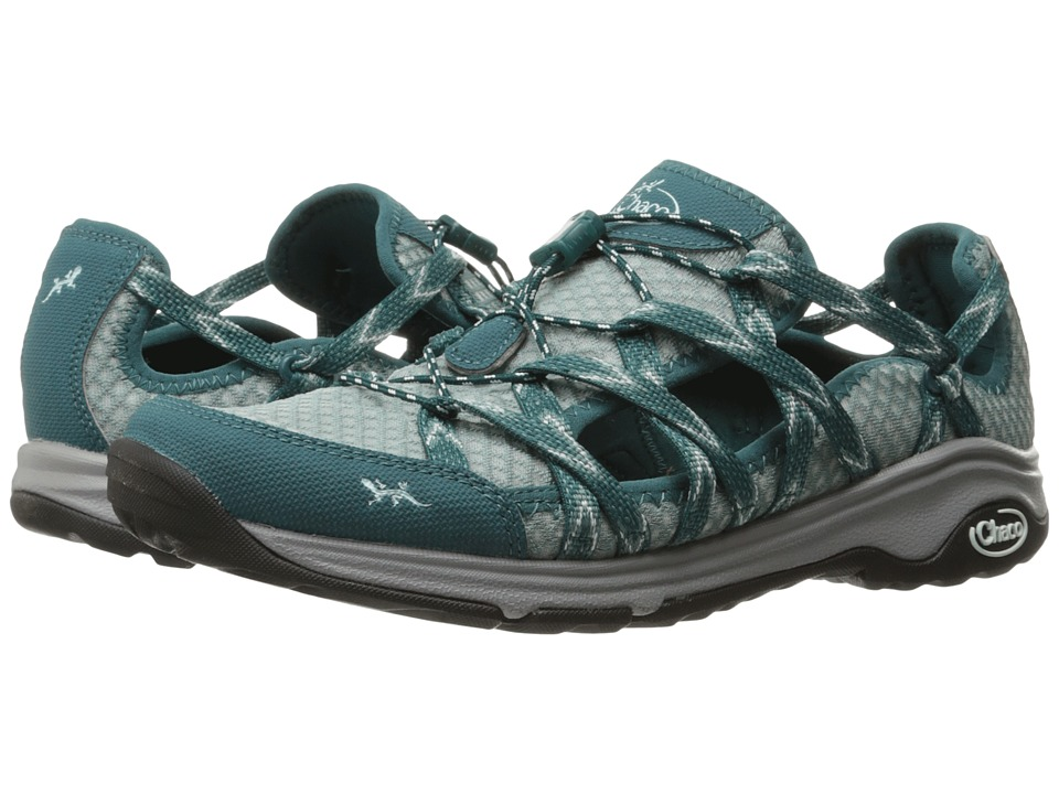 Chaco - Outcross Evo Free (Teal) Women's Shoes