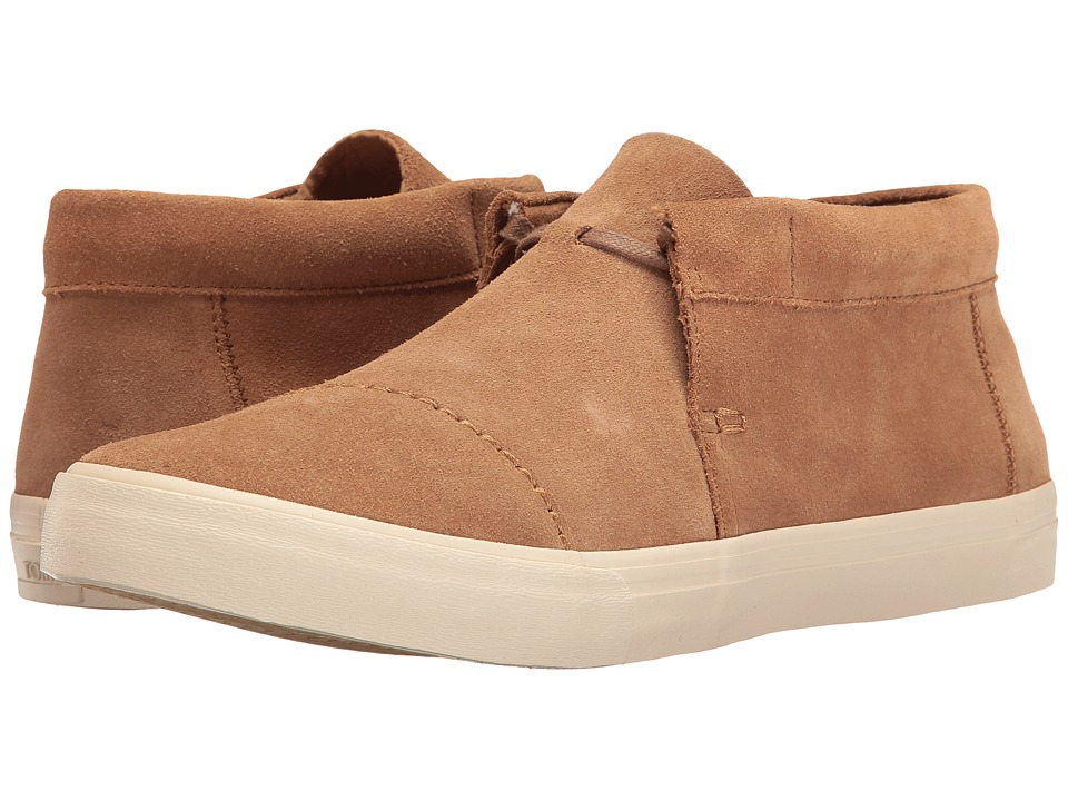 TOMS Emerson Mid Sneaker (Toffee Suede) Men