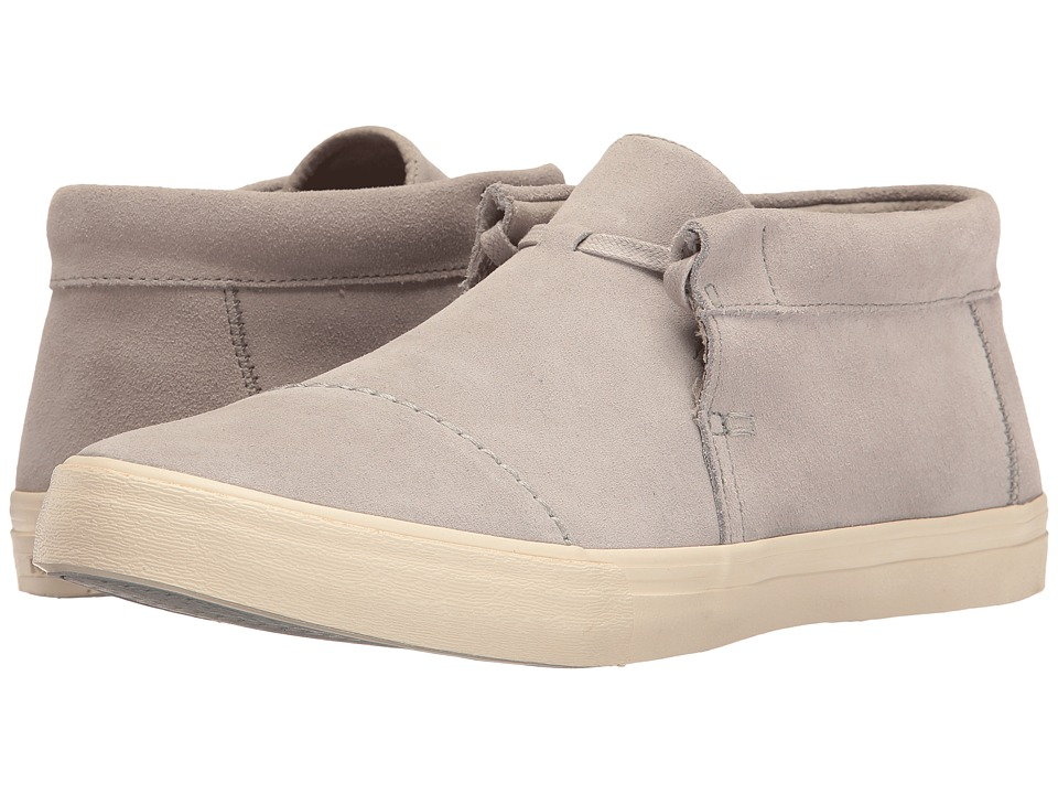 TOMS - Emerson Mid Sneaker (Drizzle Grey Suede) Men's Shoes