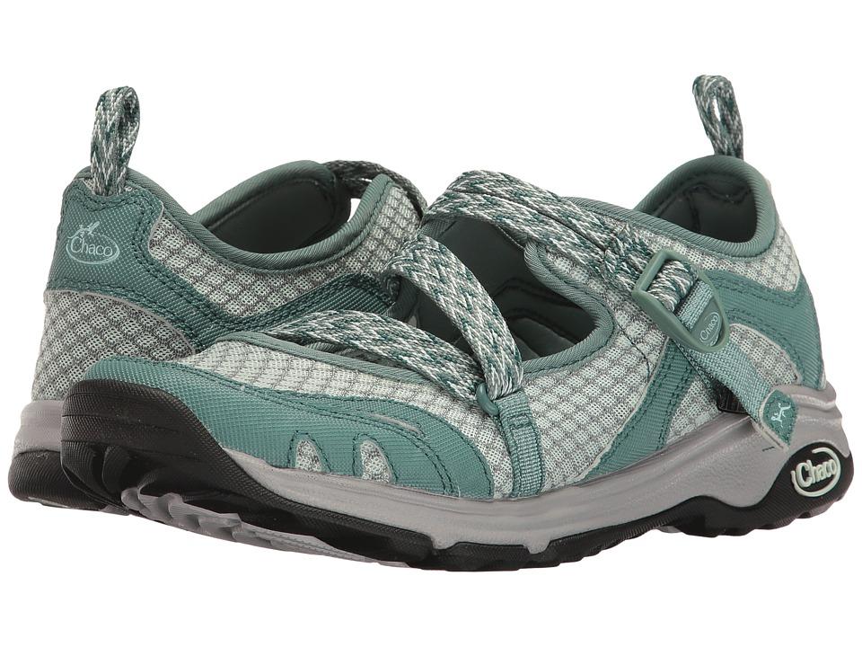 Chaco - Outcross Evo MJ (Teal) Women's Maryjane Shoes