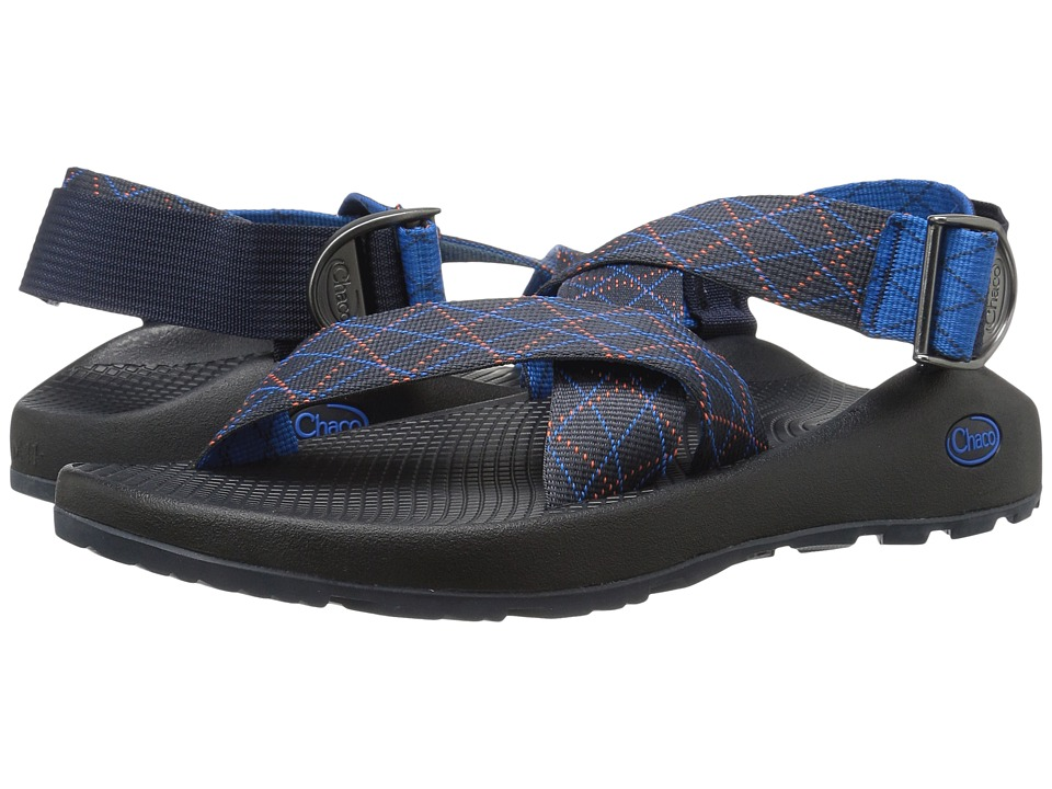 Chaco - Mega Z Classic (Rhombus Blue) Men's Sandals