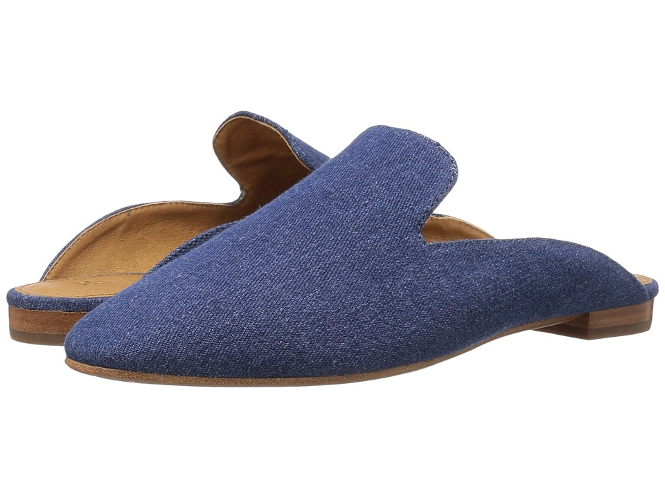 Frye Gwen Slide (Indigo Denim) Women