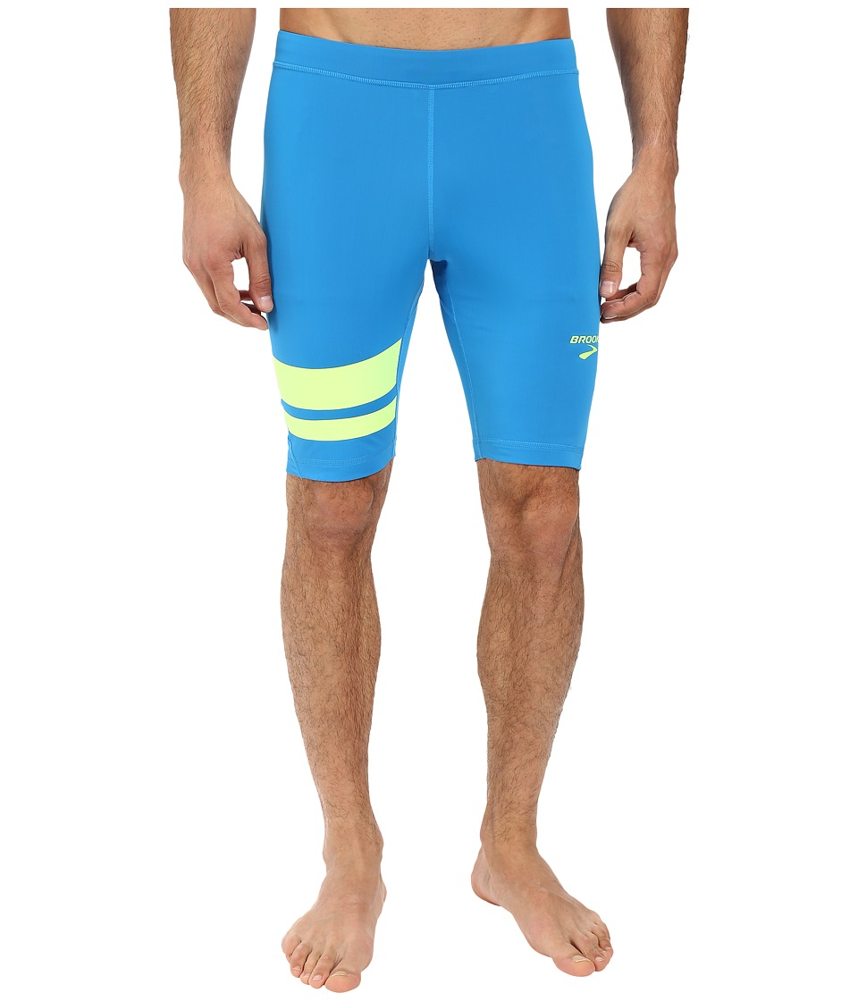 Brooks - Elite 9 Short Tights (Ultra Blue/Nightlife) Men's Shorts