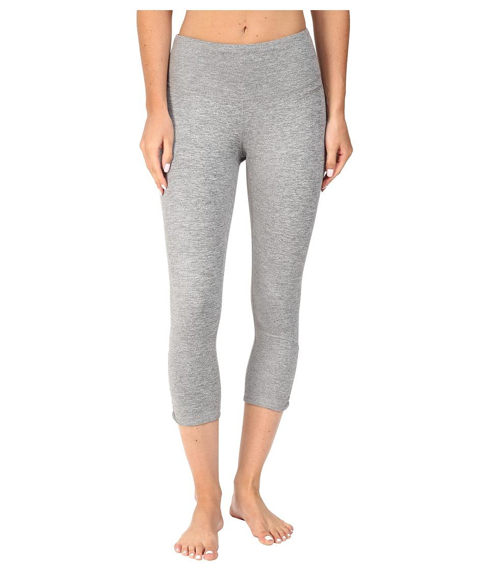 Brooks - Greenlight Capri Pants (Heather Oxford) Women's Capri plus size,  plus size fashion plus size appare