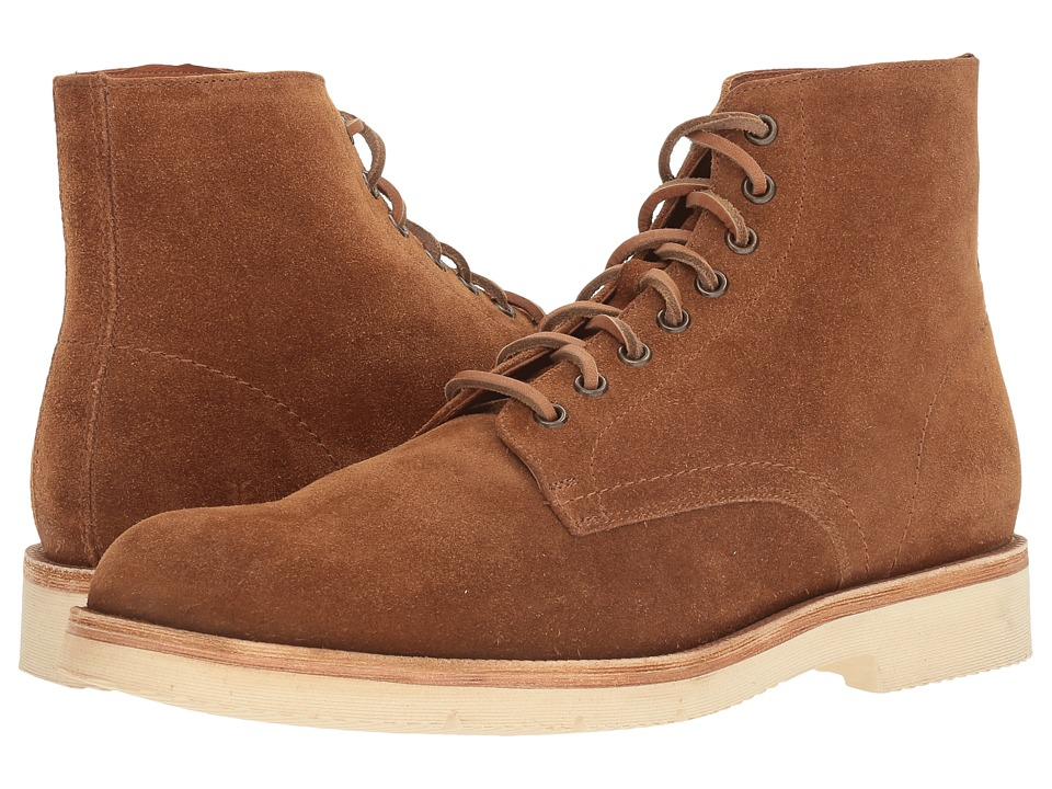Frye - Eric Lace-Up (Copper Oiled Suede) Men's Shoes