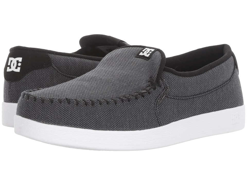 DC - Villain TX (Black Resin) Men's Skate Shoes