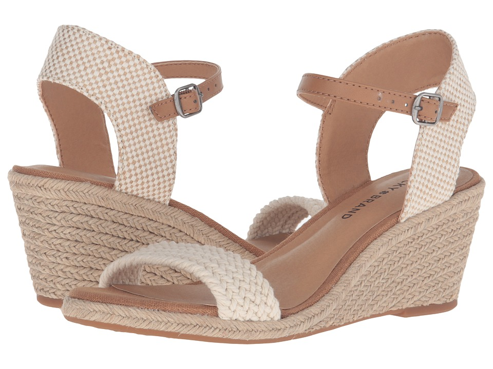 Lucky Brand - Katereena (Natural) Women's Shoes