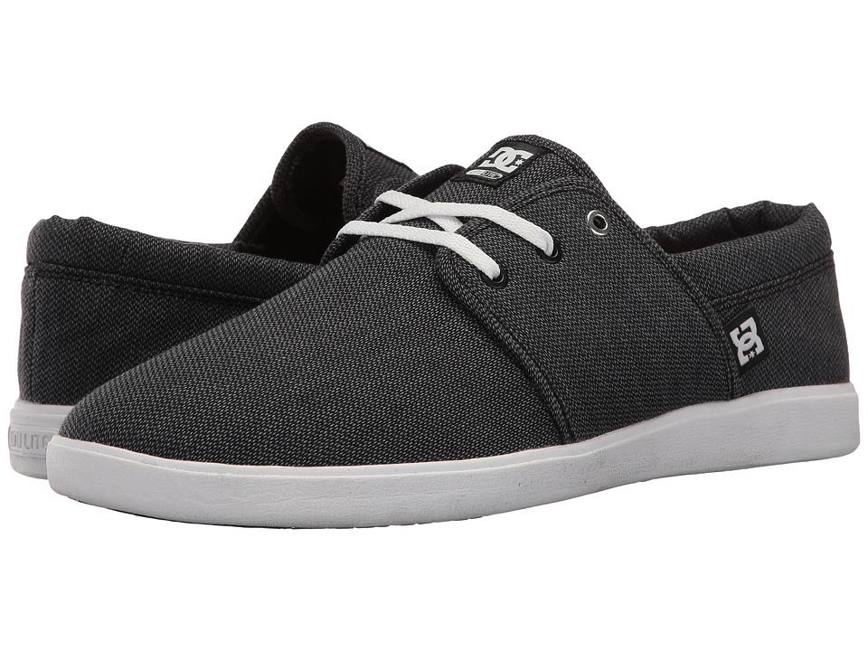 DC - Haven TX SE (Black Resin) Men's Skate Shoes