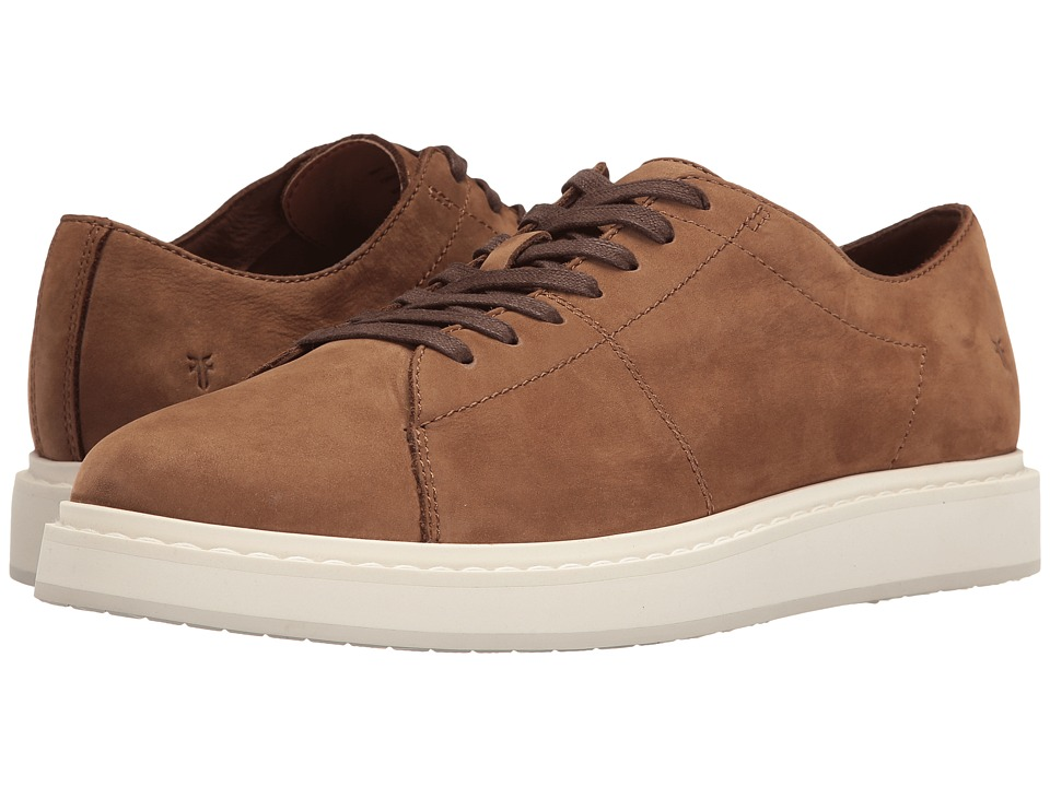 Frye - Mercer Low Lace (Tobacco Soft Italian Nubuck) Men's Lace up casual Shoes