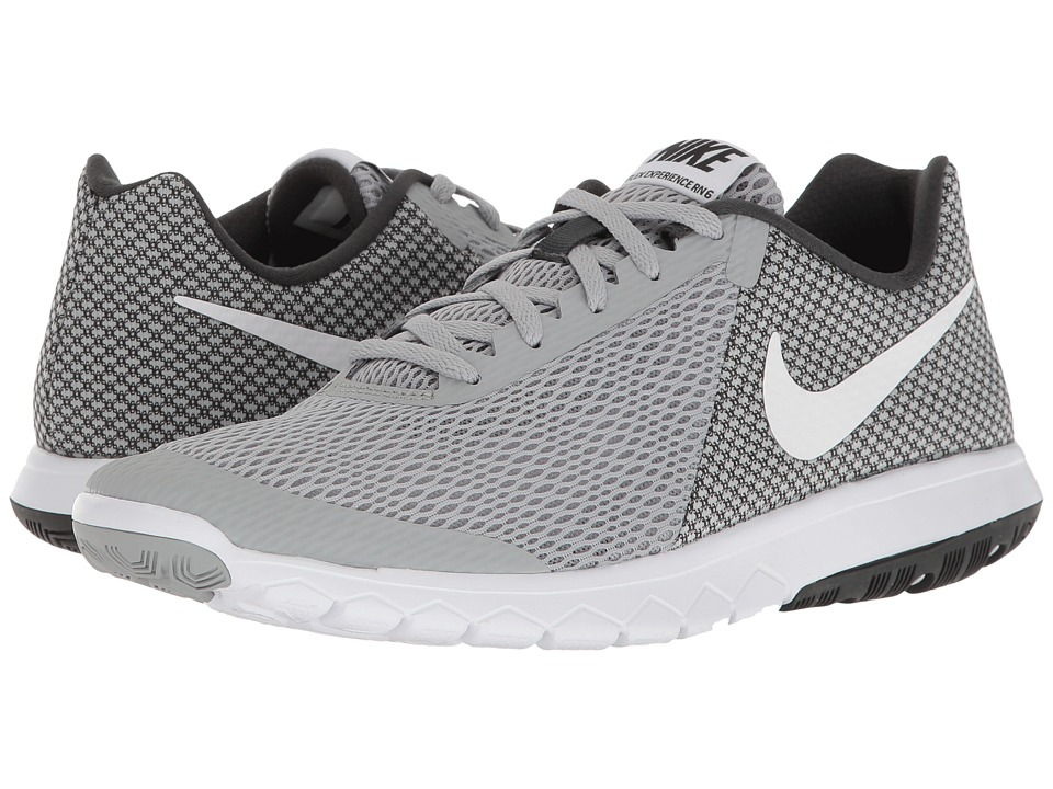 Nike - Flex Experience RN 6 (Wolf Grey/White/Anthracite/White) Women