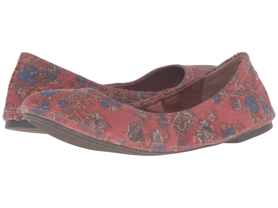 Lucky Brand - Emmie (Floral) Women's Flat Shoes