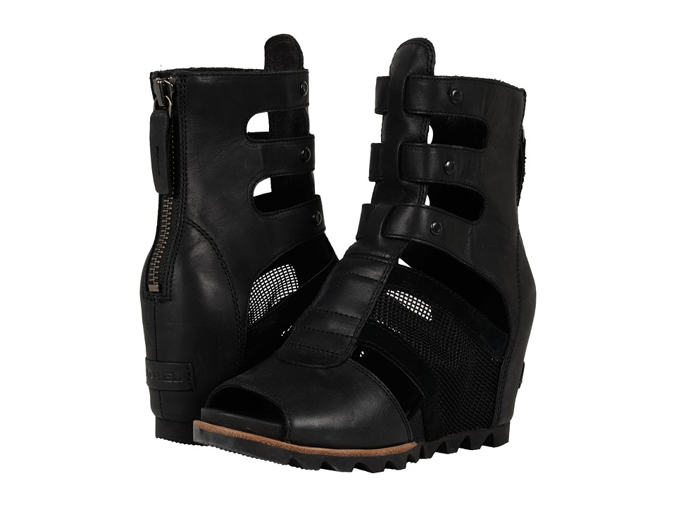 SOREL - Joanie Gladiator (Black) Women's Boots