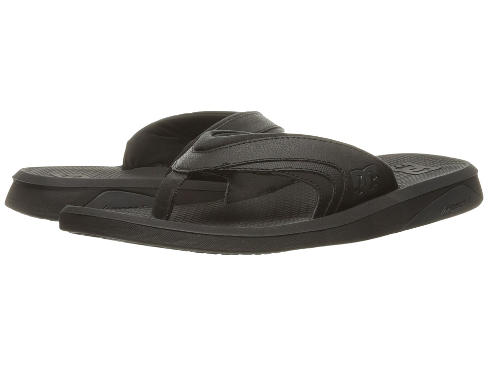 DC - Recoil By Bruce Irons (Black) Men's Sandals
