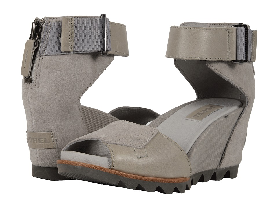 SOREL Joanie Sandal (Dove/Quarry) Women