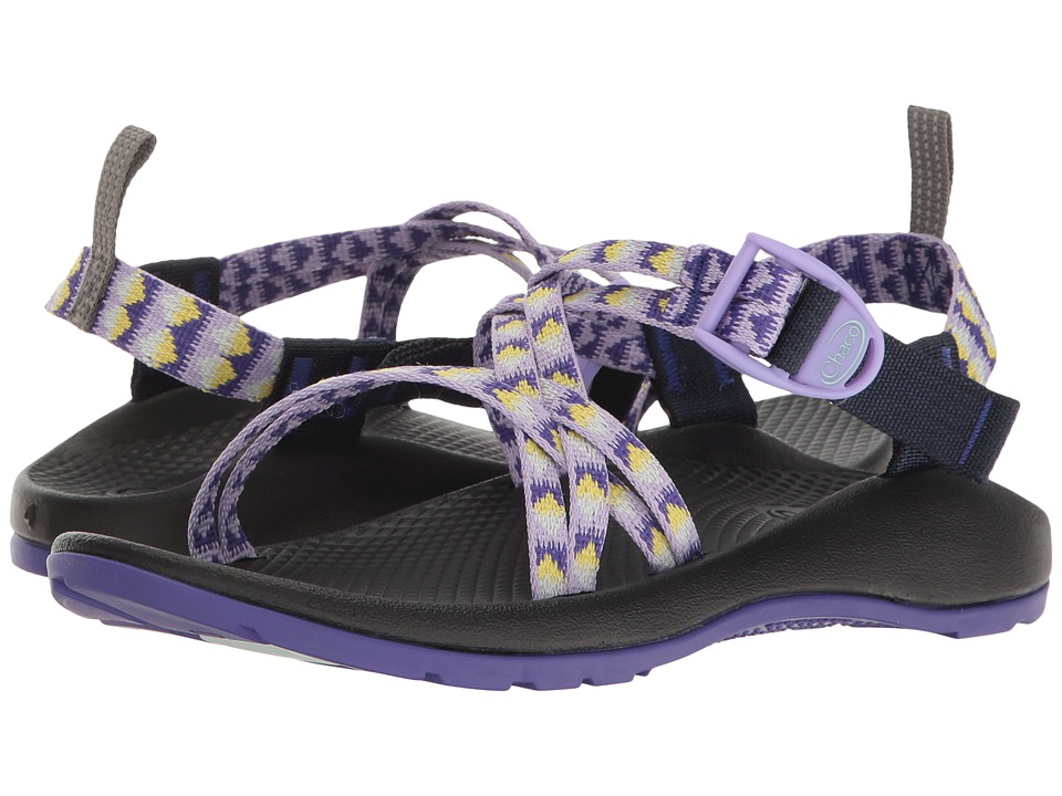 Chaco Kids - ZX/1(r) Ecotread (Toddler/Little Kid/Big Kid) (Pyramid Orchid) Girls Shoes