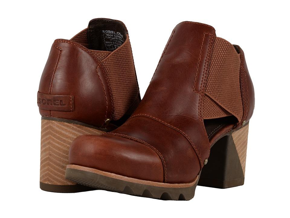 SOREL - Addington Cut Out (Rustic Brown/Major) High Heels
