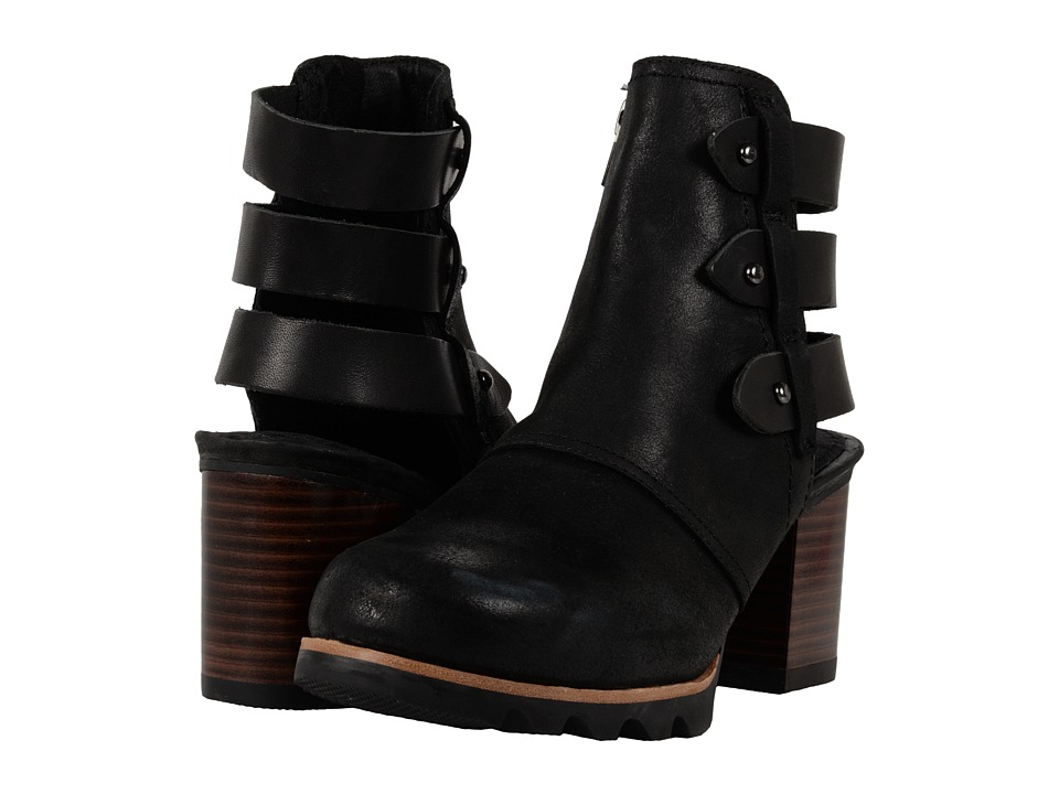 SOREL - Addington Bootie (Black) High Heels