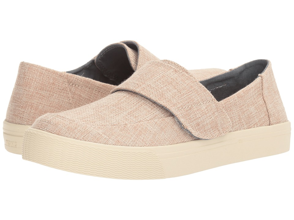 TOMS - Altair Slip-On (Pale Pink Lurex Woven) Women's Slip on Shoes
