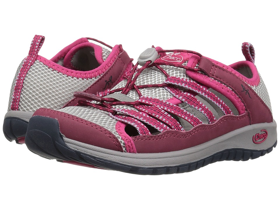 Chaco Kids Outcross 2 (Toddler/Little Kid/Big Kid) (Bright Rose) Girls Shoes