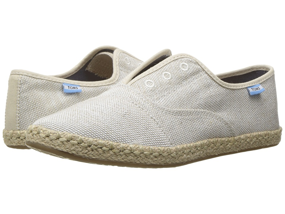 TOMS - Palmera Slip-On (Natural Yarn-Dye) Women's Flat Shoes