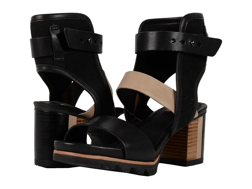 SOREL - Addington Cuff (Black) High Heels