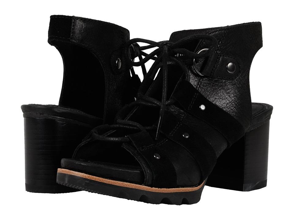 SOREL - Addington Sandal (Black) High Heels