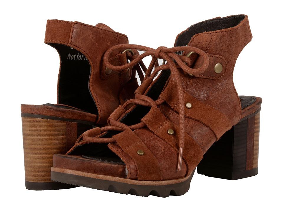 SOREL - Addington Sandal (Rustic Brown/Cordovan) High Heels