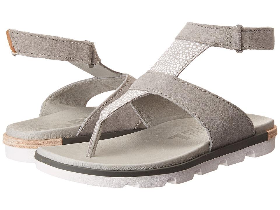 SOREL Torpeda Ankle Strap (Dove/White) Women