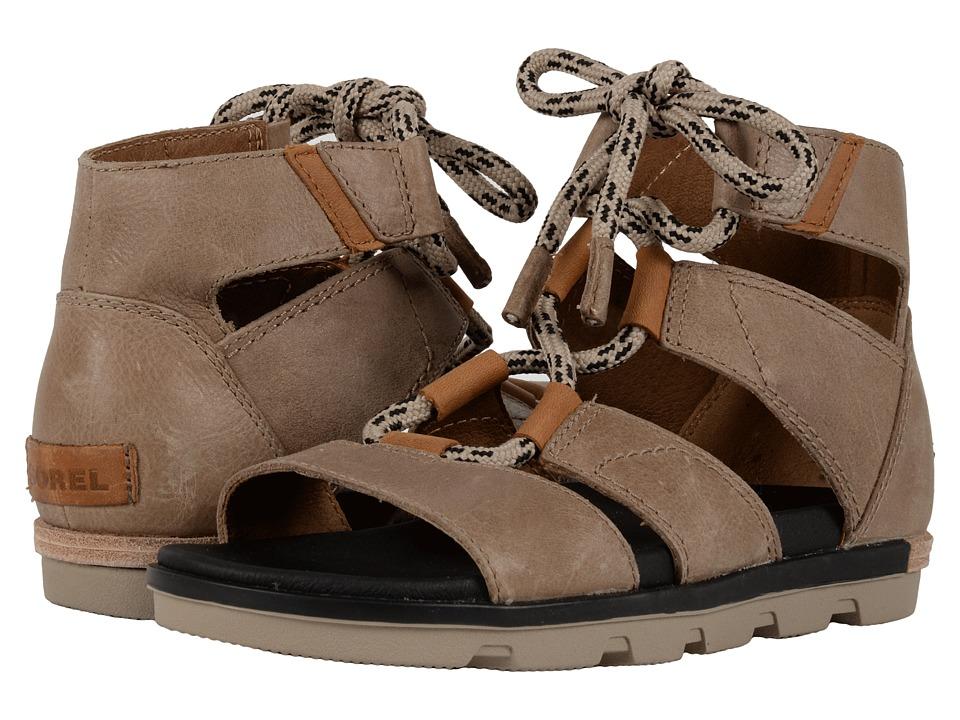 SOREL - Torpeda Lace II (Sahara/Black) Women's Shoes
