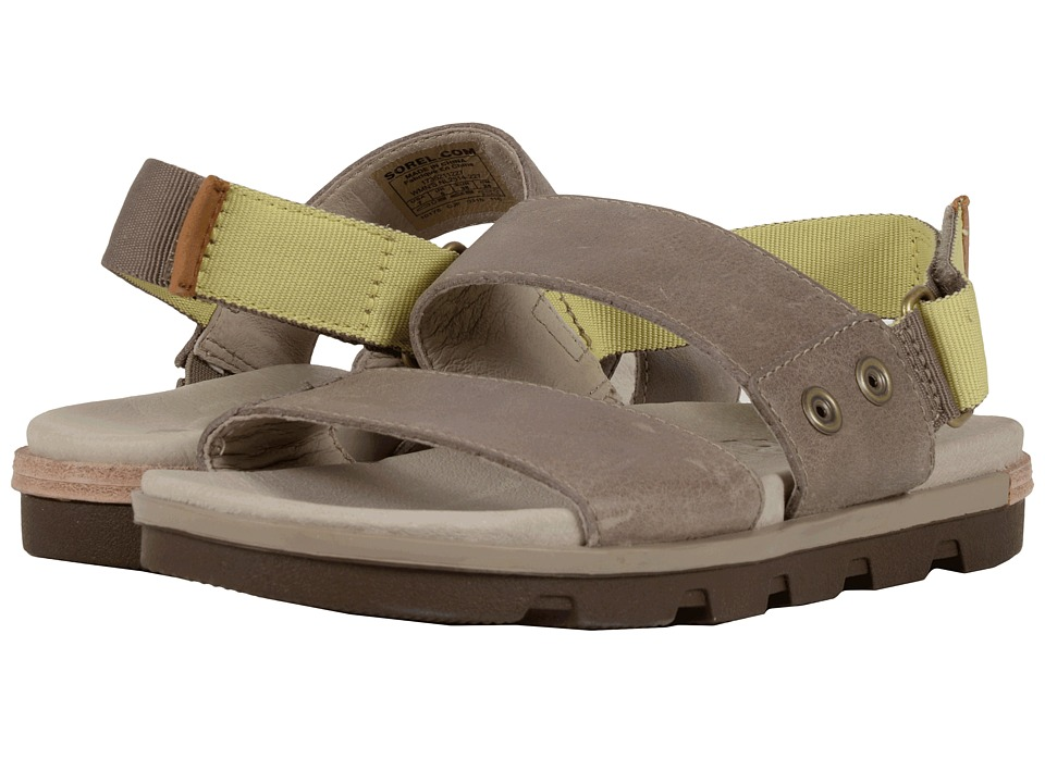 SOREL - Torpeda Sandal (Pebble/Zest) Women's Shoes