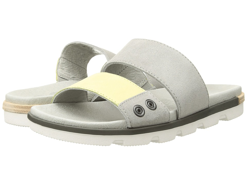 SOREL - Torpeda Slide II (Dove/Zest) Women's Slide Shoes