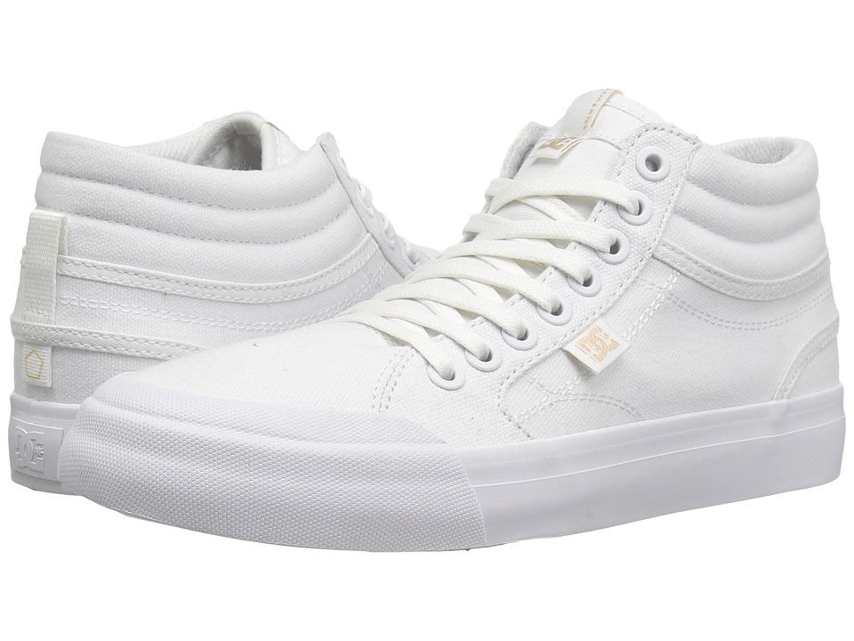 DC - Evan Hi TX (White) Women's Shoes