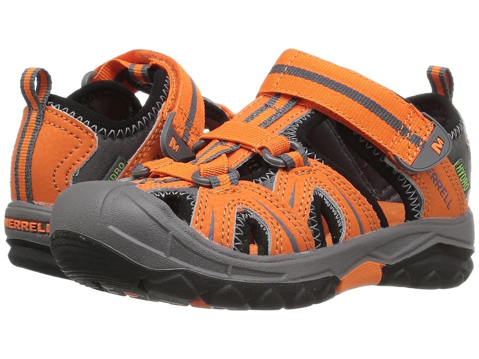 Merrell Kids - Hydro (Toddler/Little Kid) (Orange/Grey) Boys Shoes