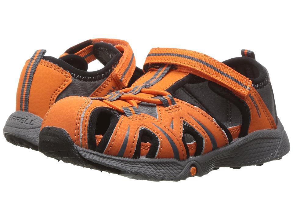 Merrell Kids Hydro Junior (Toddler) (Orange/Grey) Boys Shoes