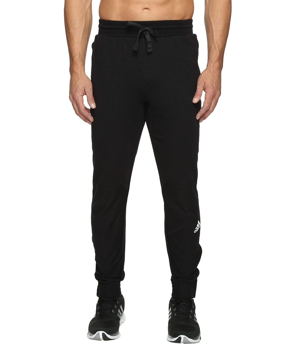 adidas - Cross Up Pants (Black/Black) Men's Casual Pants