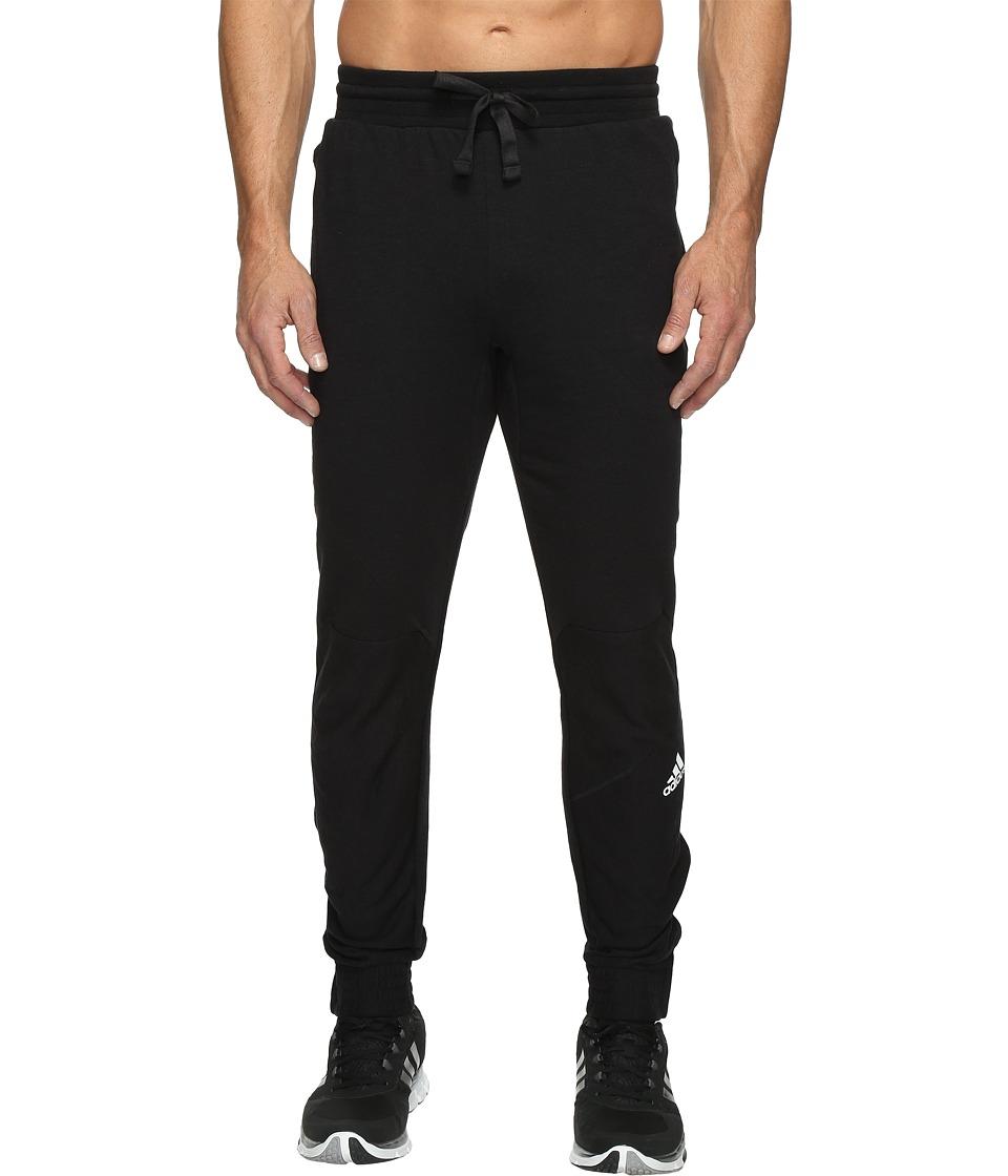 adidas - Cross Up Pants (Black/Black) Men's Casual Pants