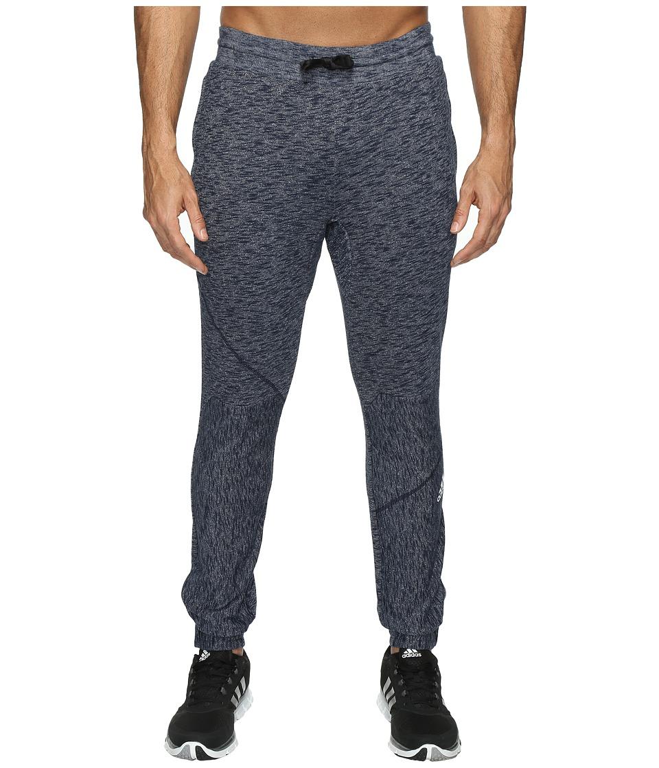 adidas - Cross Up Pants (Collegiate Navy/Solid Grey) Men's Casual Pants