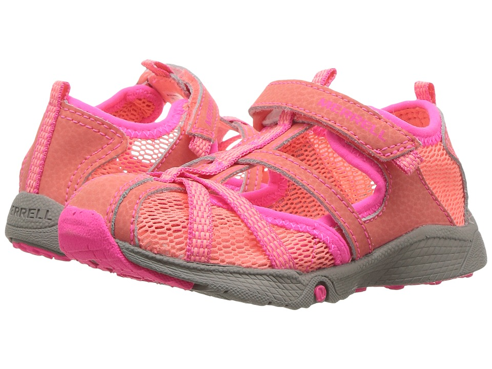 Merrell Kids - Hydro Monarch Junior (Toddler) (Coral) Girls Shoes
