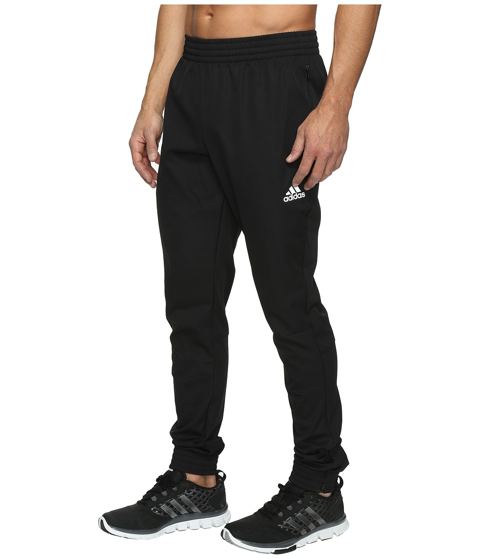 adidas - Woven Taper Pants (Black) Men's Casual Pants